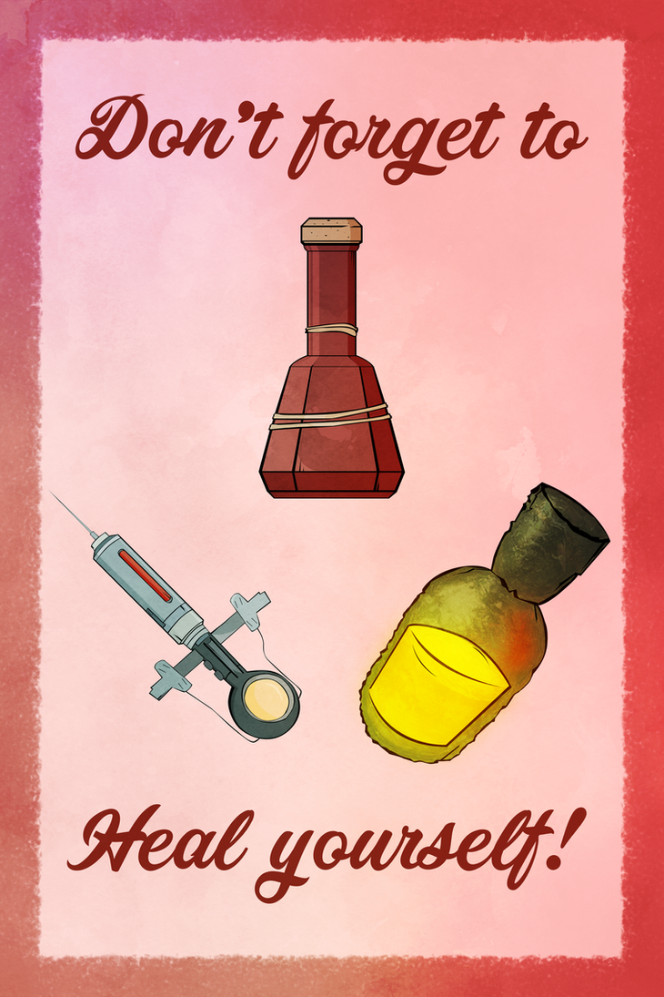 -- Heal yourself poster! -- by 0l-Fox-l0
