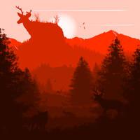 -- Deer moutain --