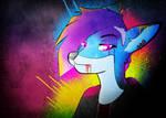 -- Punk fox -- by 0l-Fox-l0