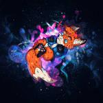 Chill in star dust! by 0l-Fox-l0
