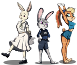 Bunny Squad by 0l-Fox-l0