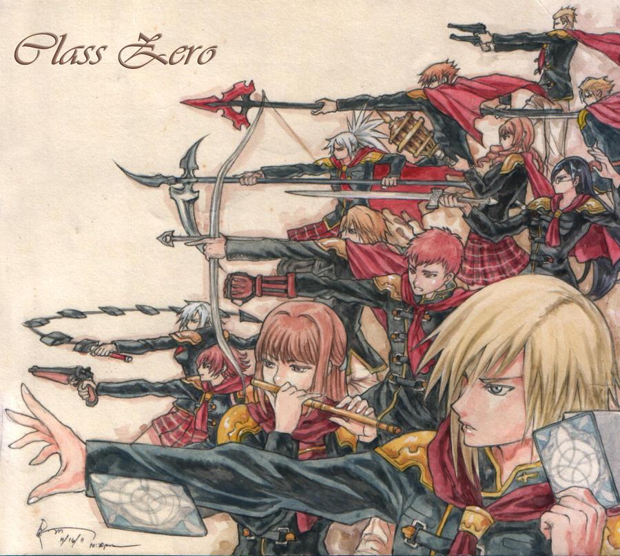 Final Fantasy Type Zero - Class Zero by Nick-Ian
