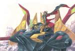 Lelouch, C.C and Gawain