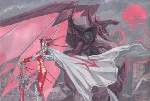Kallen Kozuki: The Red Knight of Zero
