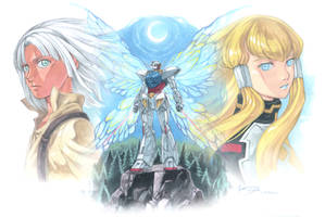 Turn A Gundam: Loran, Dianna and the Butterfly