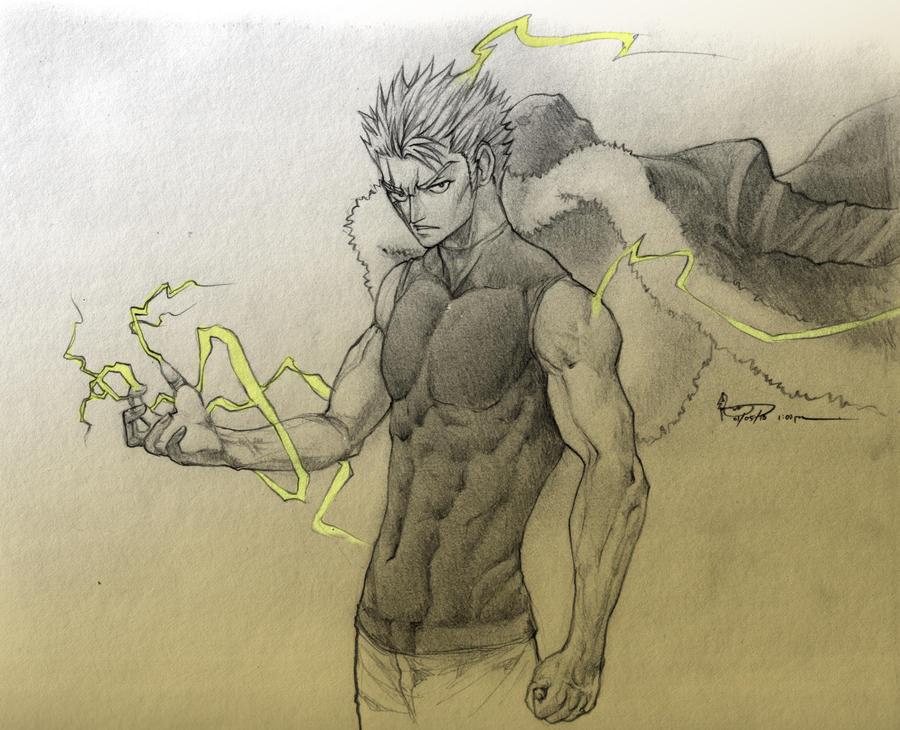 laxus the lightning emperor by nick ian