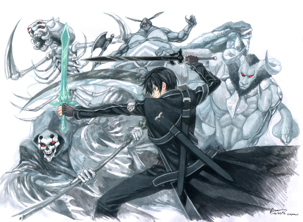Sword Art Online - All Bosses by Nick-Ian