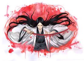 Bleach Unohana Retsu The First Kenpachi by Nick-Ian