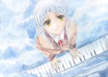 Angel Beats Kanade's Piano by Nick-Ian