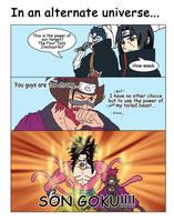 Roshi And Son Goku by Nick-Ian