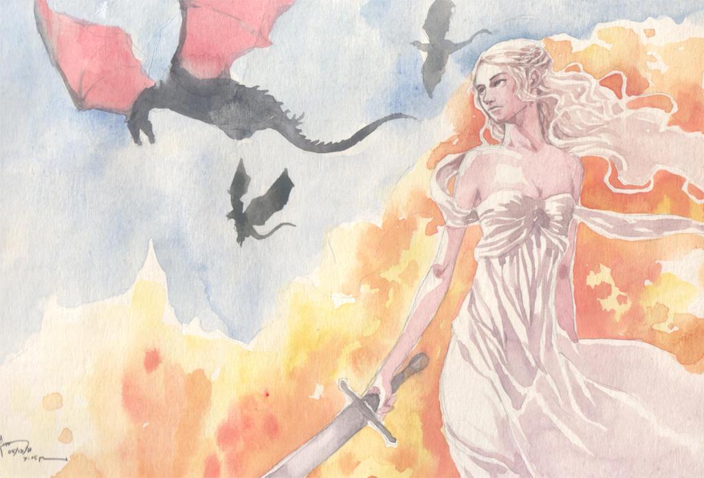 Game Of Thrones Dragon Princess by Nick-Ian