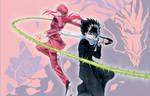 Yu Yu Hakusho Kurama And Hiei - Eternal Duo