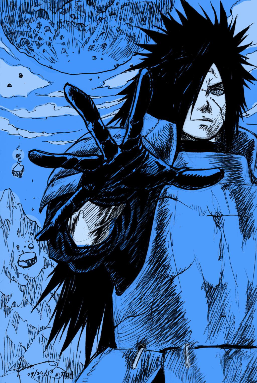 Naruto Shippuden Madara Uchiha by Nick-Ian on DeviantArt