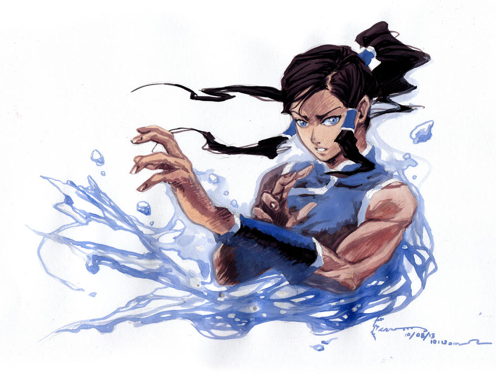 Avatar Legend Of Korra Korra by Nick-Ian