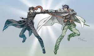 Crossover Sao Vs Log Horizon