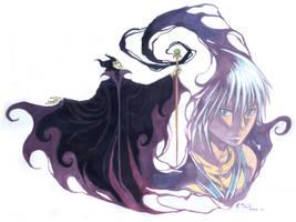 Kingdom Hearts Maleficent And Riku