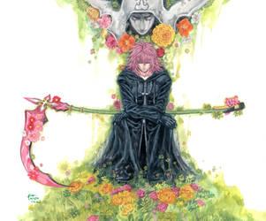 Kingdom Hearts - Marluxia by Nick-Ian