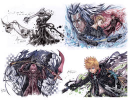 Kingdom Hearts 2.5 HD Remix Assorted Art 2