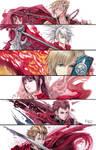 Final Fantasy Type 0 - Six Members Of Class Zero