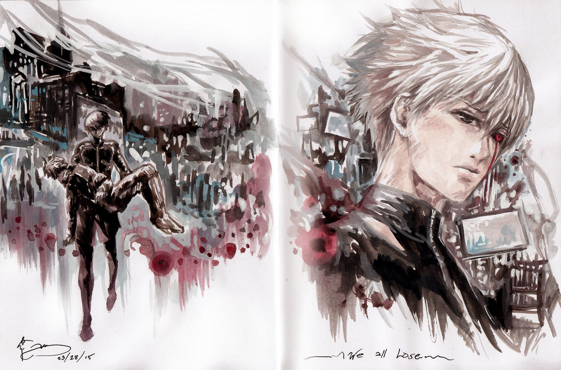 Tokyo Ghoul - The End by Nick-Ian