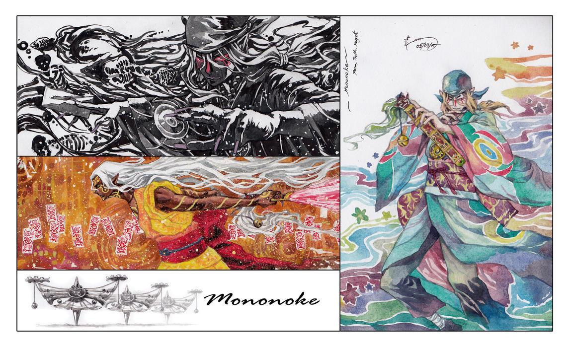 Mononoke - Form Truth Regret by Nick-Ian