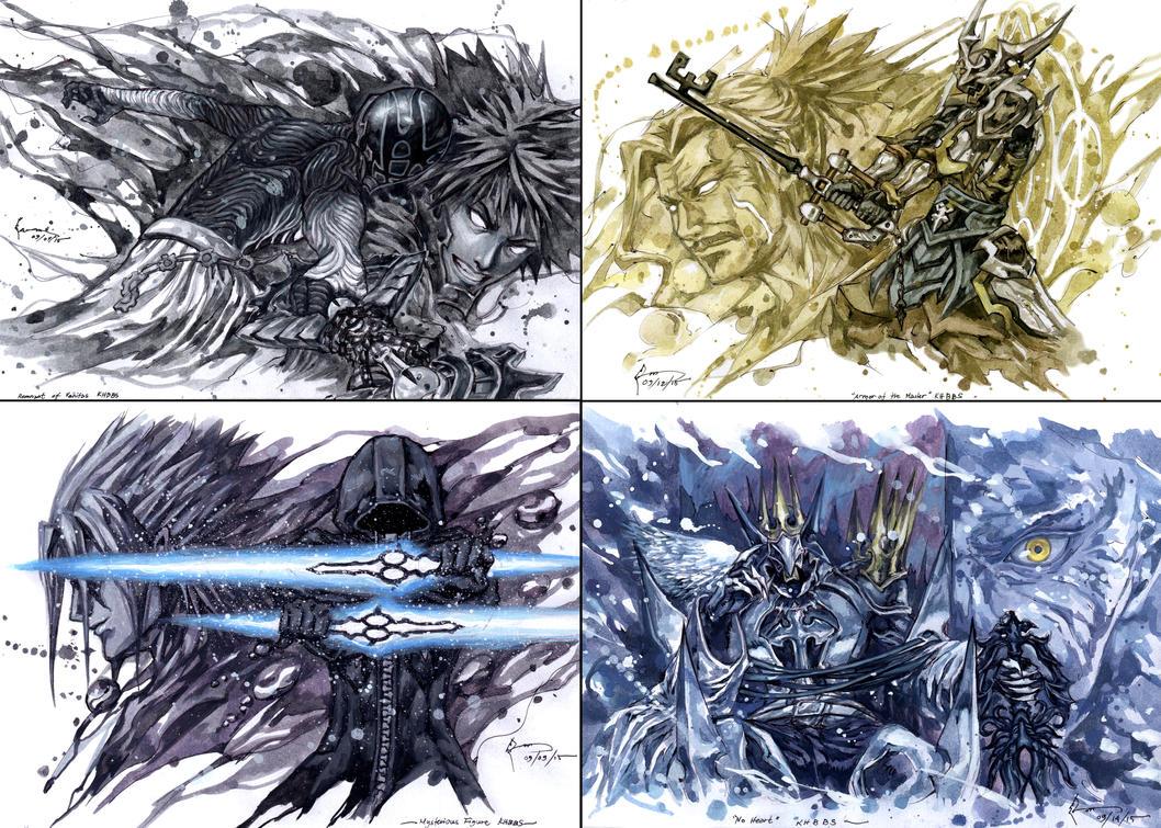 Kingdom Hearts Birth by Sleep - The Secret Bosses by Nick-Ian