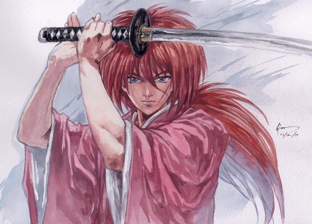 himura kenshin by Nick-Ian