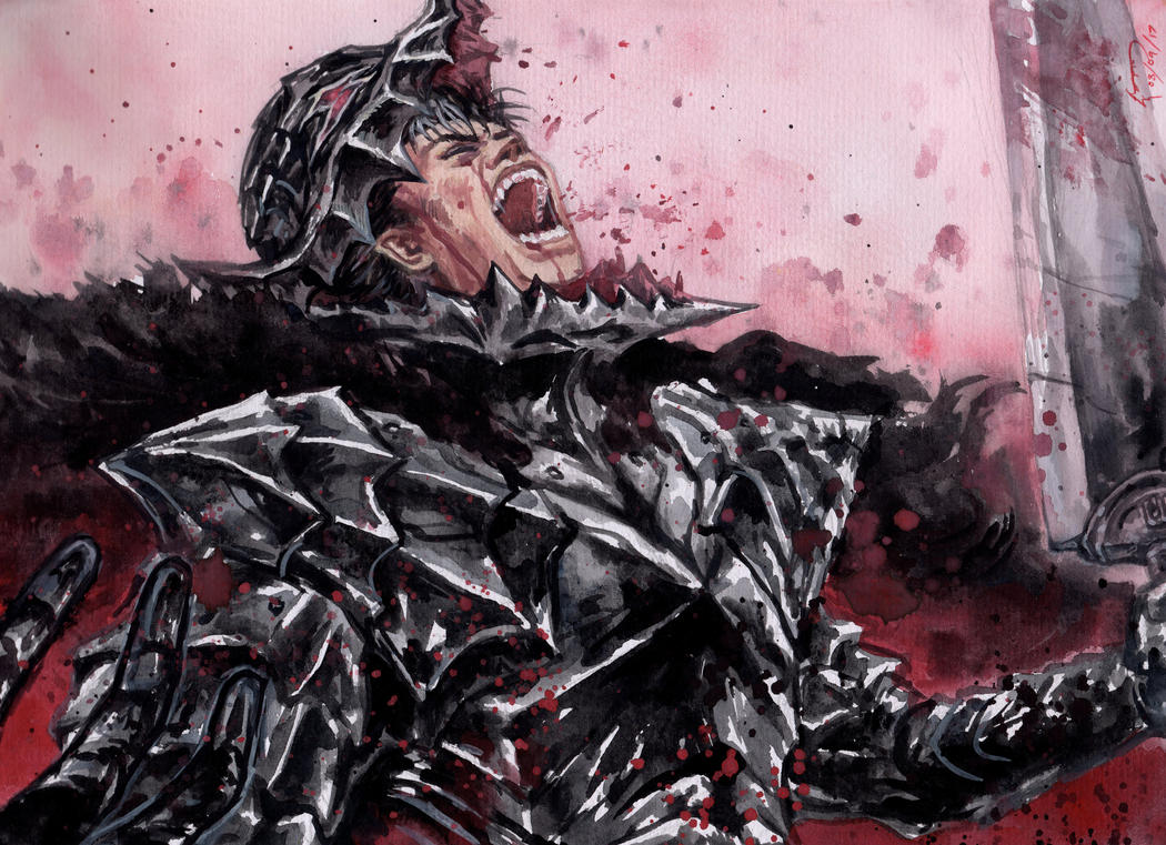 Guts Berserk Armor By Nick Ian On Deviantart