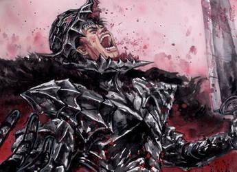 Guts - Berserk Armor by Nick-Ian