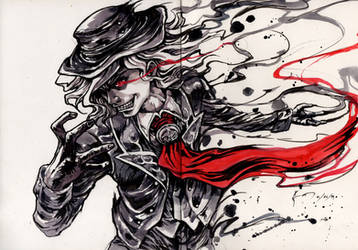 FGO Edmond Dantes by Nick-Ian