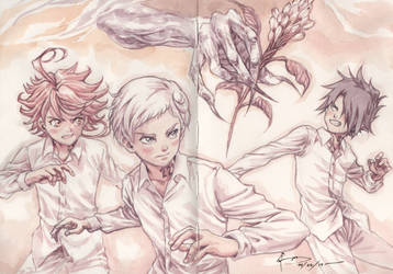 The Promised Neverland by Nick-Ian