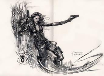 Black Widow by Nick-Ian