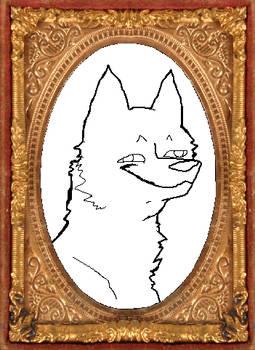 Fucked Up Wolf Portrait Base