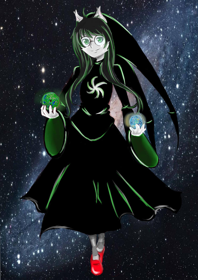Witch of Space by firemagicsinger