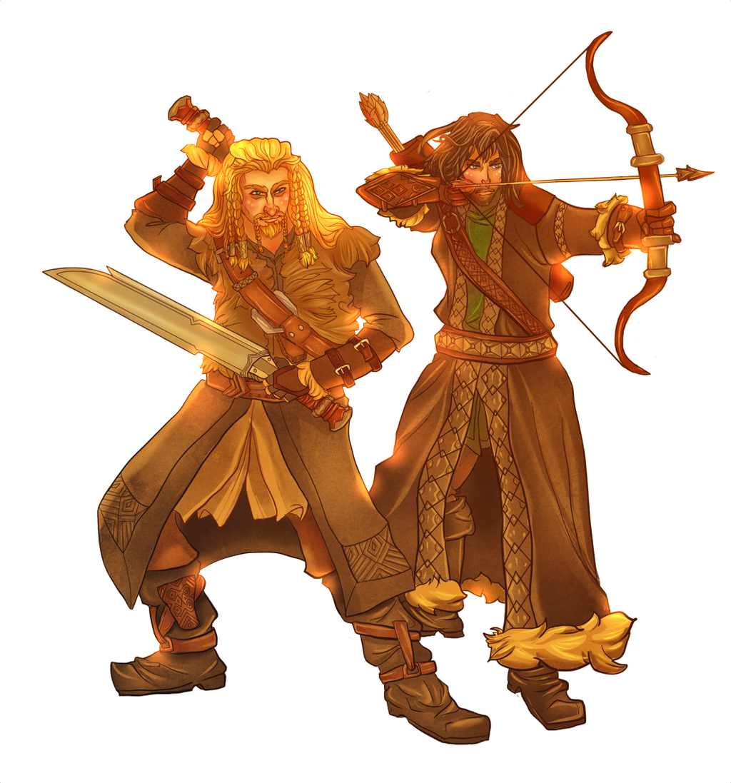 Durin's Sons by ArtByEdyn