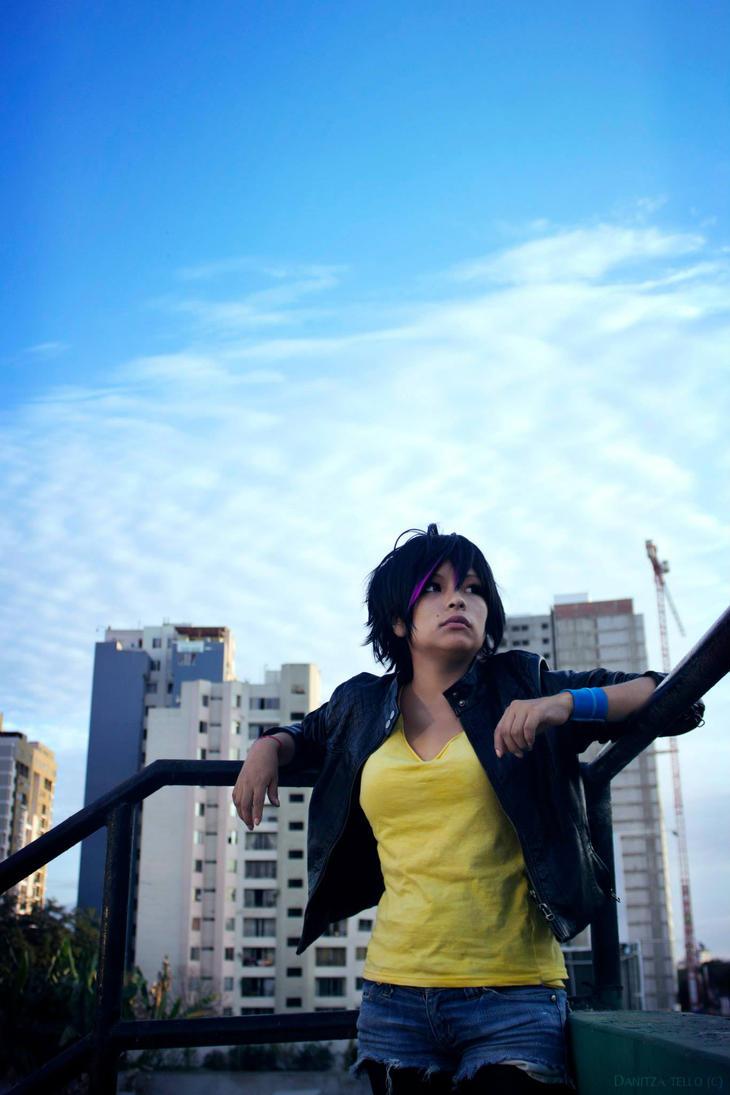In the sky - Gogo Tomago by NekoMishima