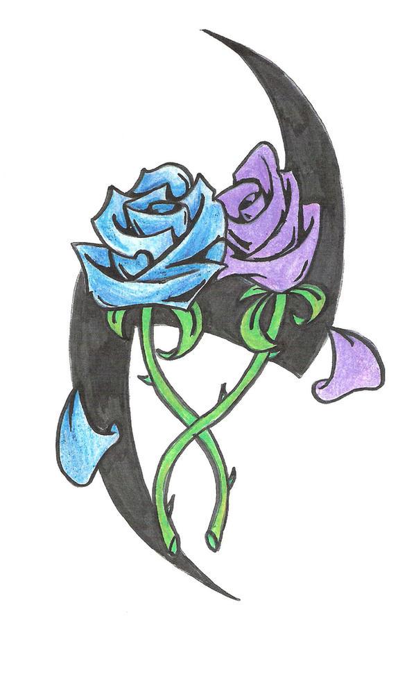 Rose Tattoo - flower tattoo