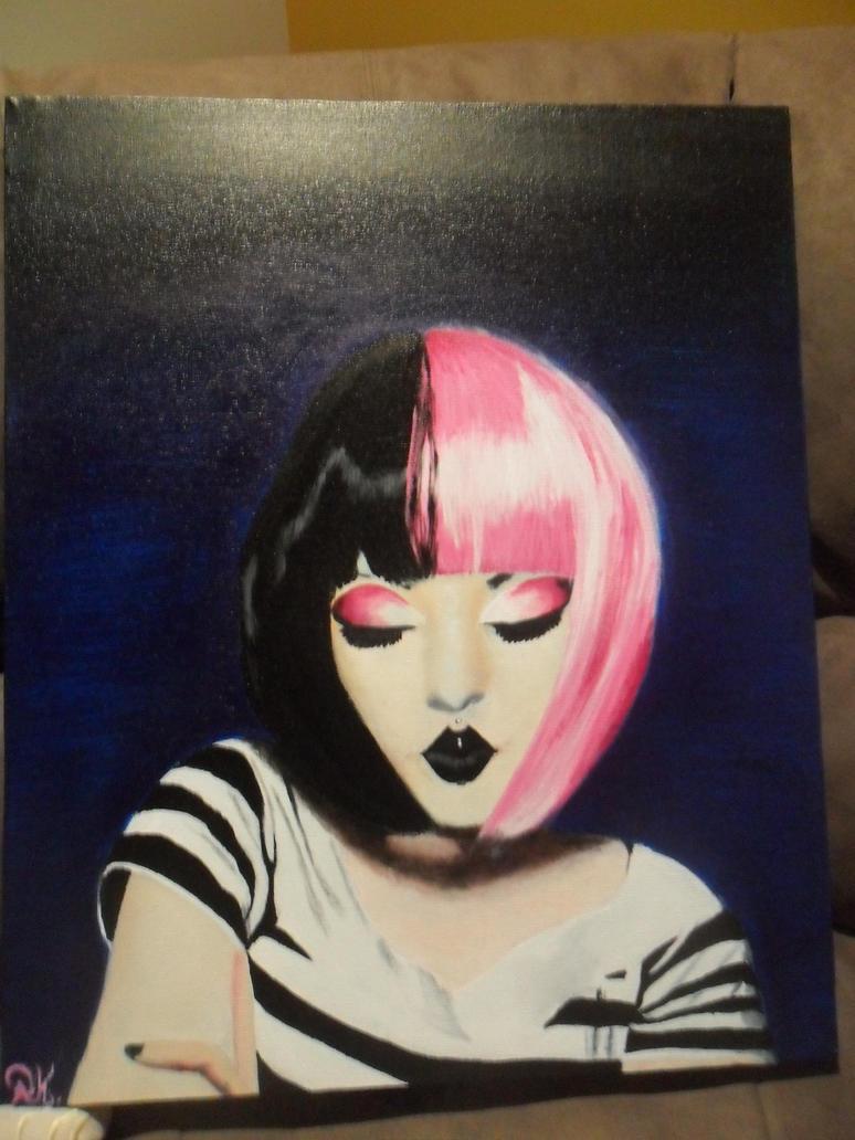 Queenofherz  Painting by drawmyownworld
