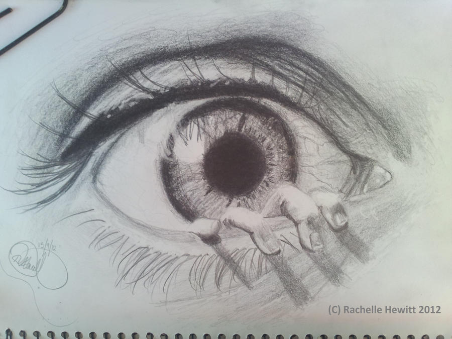 EYE finished! by drawmyownworld