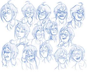 Cheren Expressions by shadenightfox