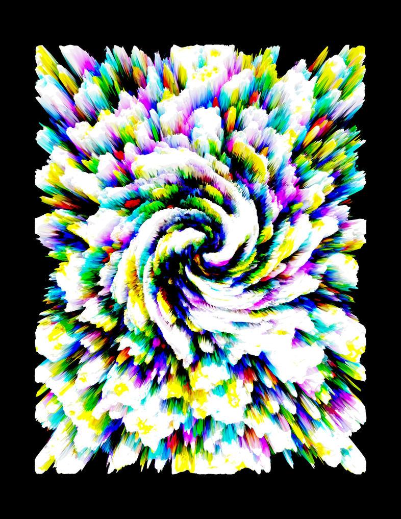 Cosmic Rose 206 by Teikiatsu-Samurai