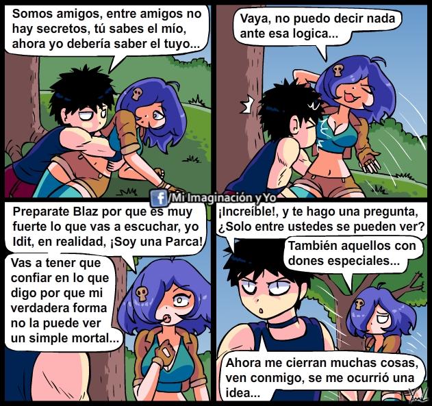 Que tramara Blaz... by yamilMIYO