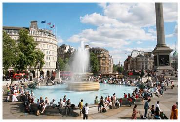 Trafalgar Square by Kaszydlo