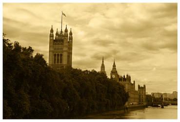 Postcard from London by Kaszydlo