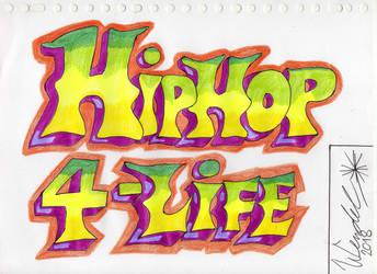 Graffiti Hiphop by WendelKrolis
