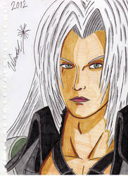 Final Fantasy Sephiroth by WendelKrolis