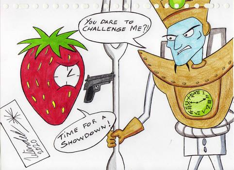 Strawberry Clock vs Dr N Tropy