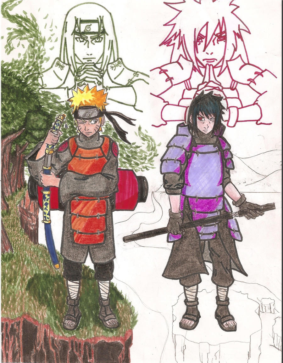 Naruto VS Sasuke: Final Battle (Update 1) by dojopriest