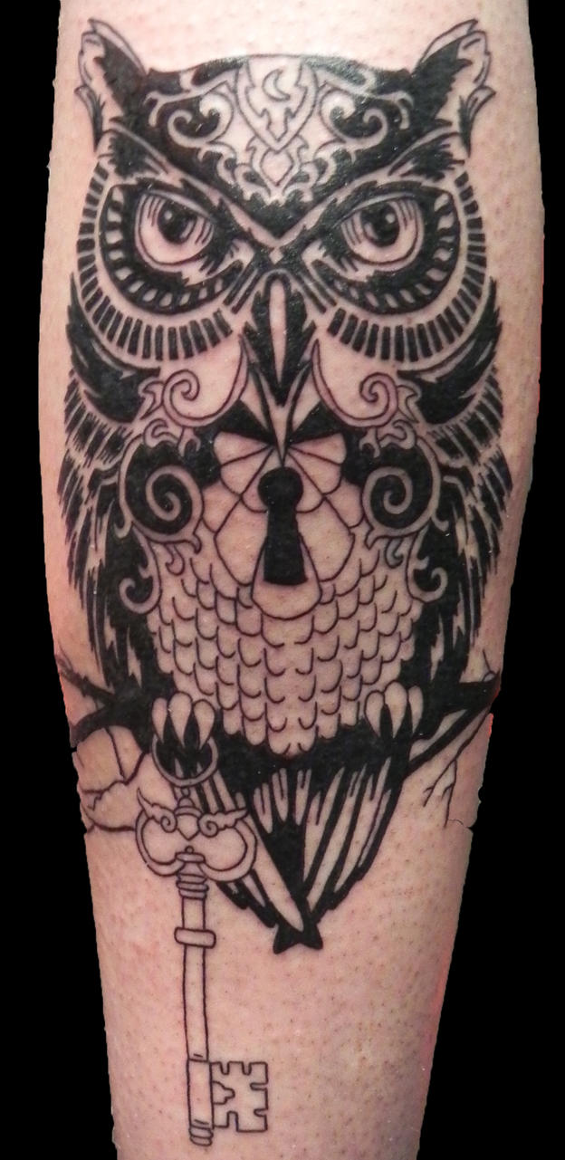 Ornate Hand Mirror Tattoo