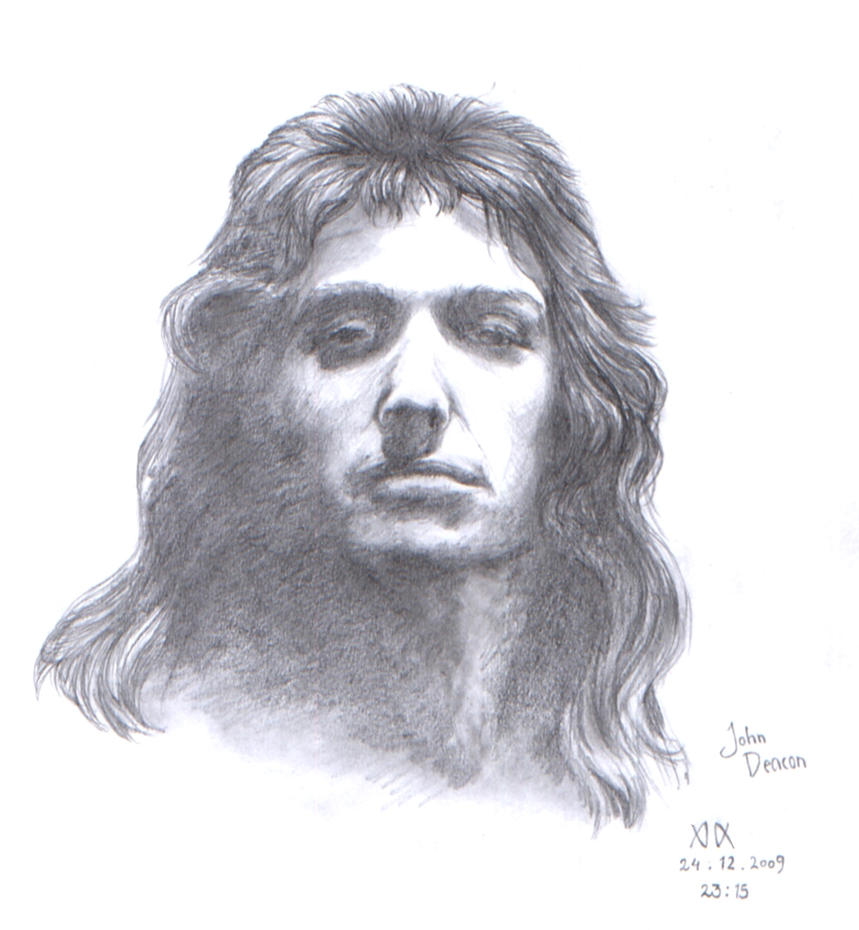 John Deacon Sketch by Cedarbird